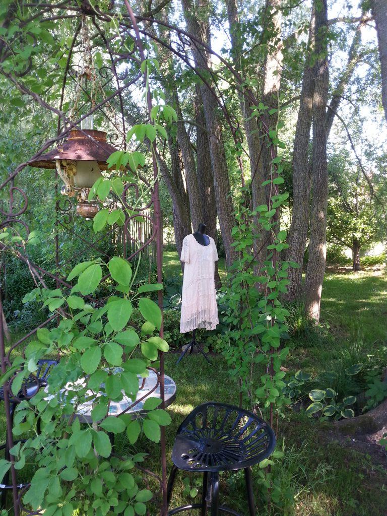 Miljöbild, klänning